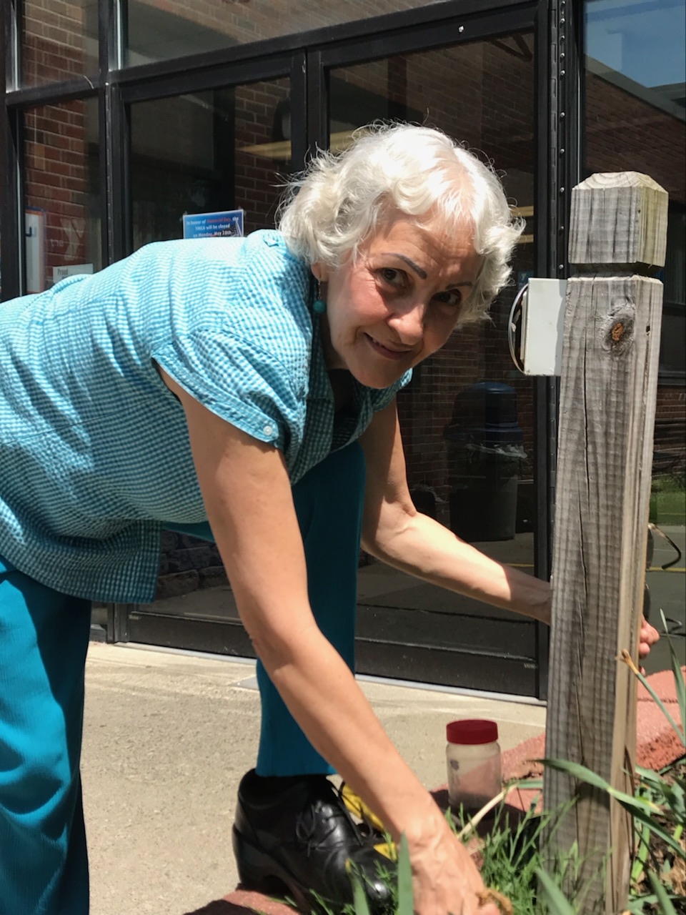 Gifted Gardener Uses her Horticulture Skills at the YMCA